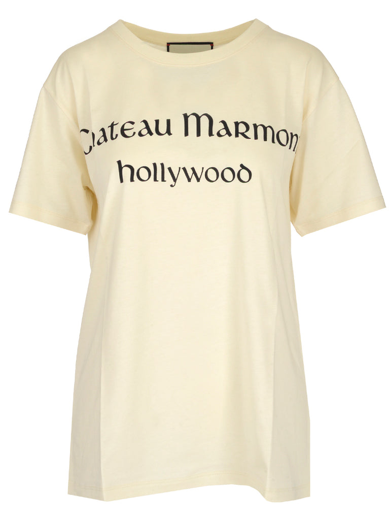Gucci 'Chateau Marmont' Print T-Shirt