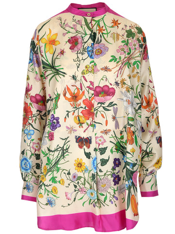 Gucci Floral Printed Tunic