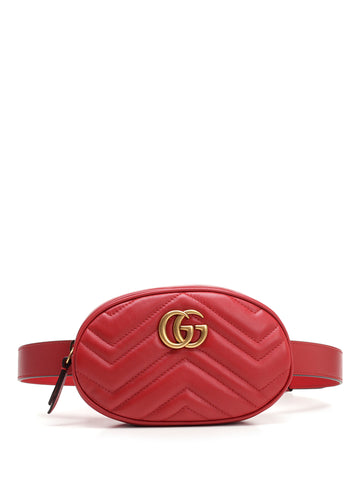 Gucci GG Marmont Quilted Belt Bag