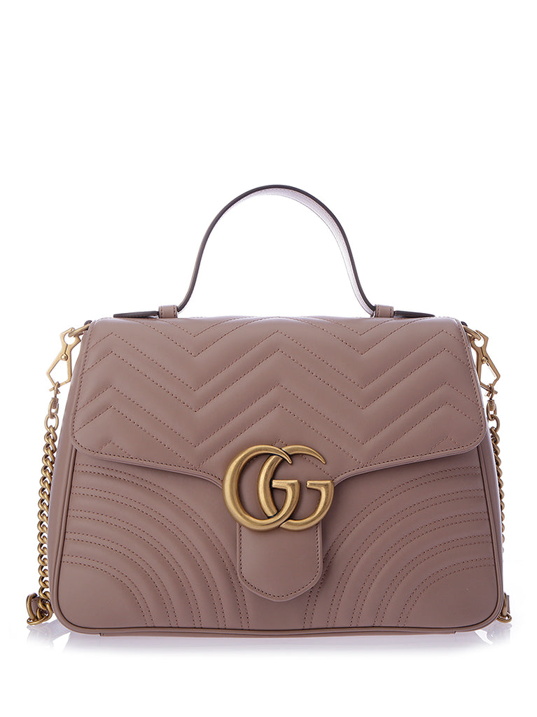 Gucci GG Marmont Quilted Shoulder Bag