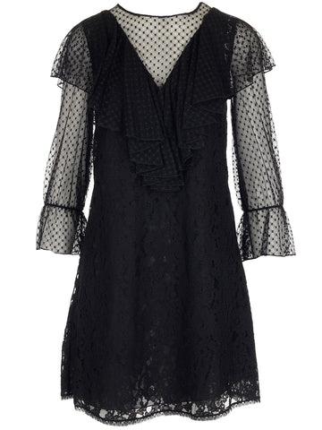 See By Chloé Ruffle Sleeve Dress