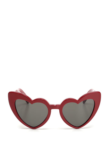 Saint Laurent Eyewear Lou Lou Heart Framed Sunglasses