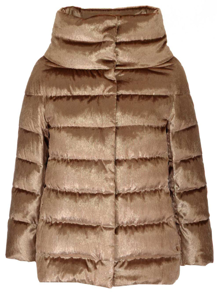 Herno Jackets HERNO VELVET EFFECT DOWN JACKET
