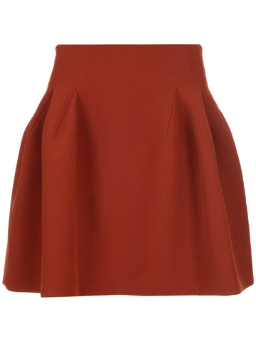Givenchy Mini Peplum Skirt