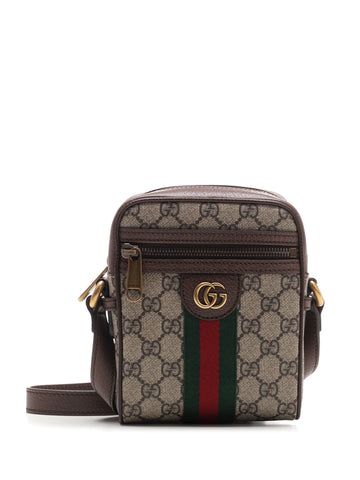 Gucci Ophidia Stripe Logo Shoulder Bag