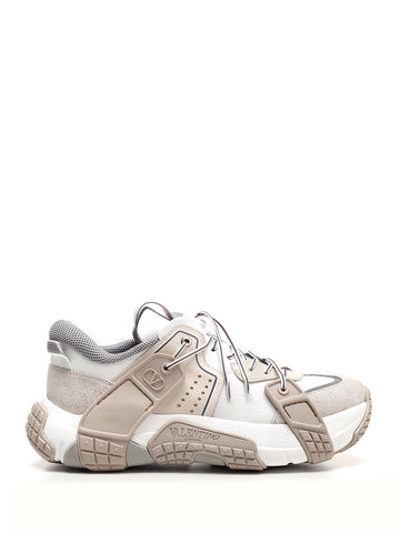 Valentino Panelled Low-Top Sneakers