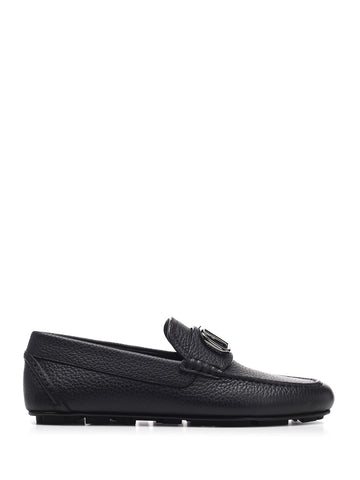 Valentino VLogo Plaque Loafers