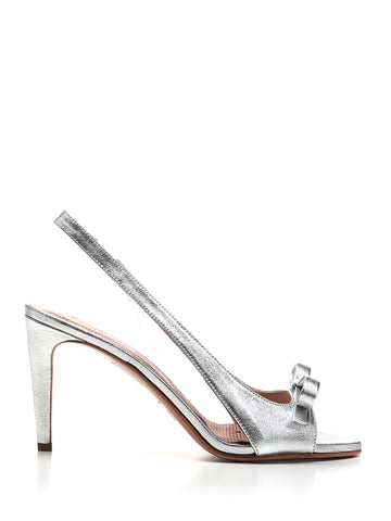 Red Valentino Bow Detail Slingback Sandals