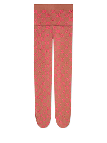 Gucci GG Embroidered Tights