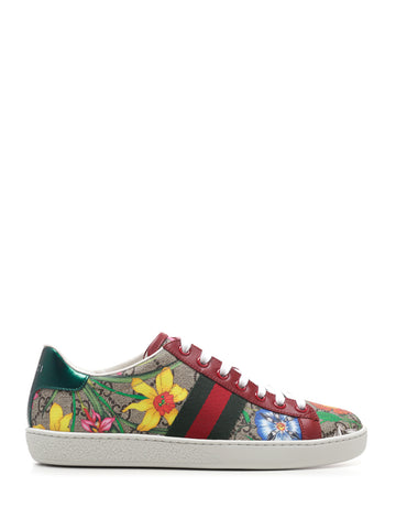 Gucci Ace GG Flora Sneakers