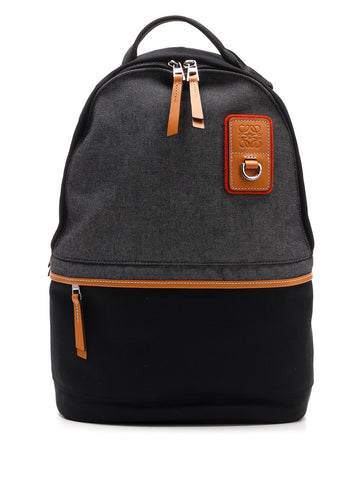 Loewe Zipped Logo Patch Backpack