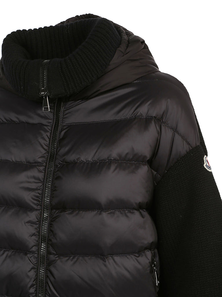 aefea896abc3 Moncler Knitted Sleeves Padded Jacket – Cettire