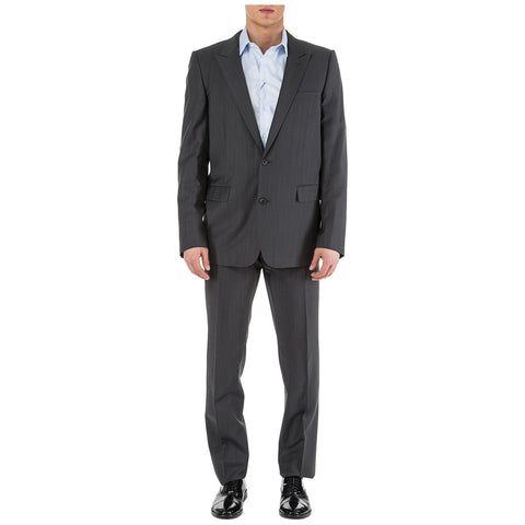 Dior Homme Two Piece Two Toned Patterned Suit