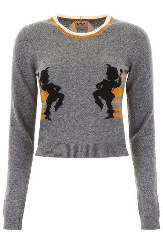 N°21 Printed Jumper