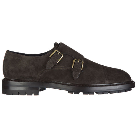 Dolce & Gabbana Double Buckle Monk Shoes