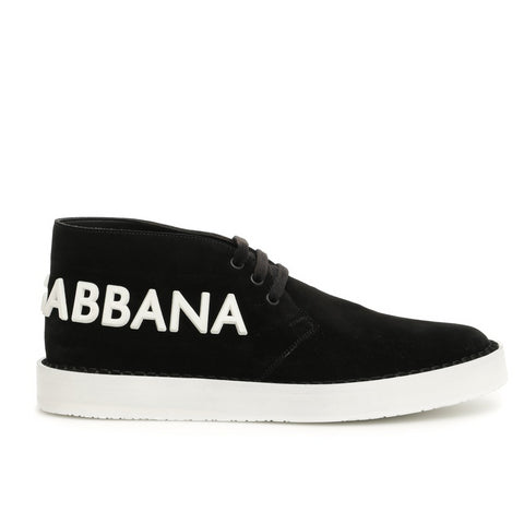 Dolce & Gabbana Logo Lace Up Derby Shoes