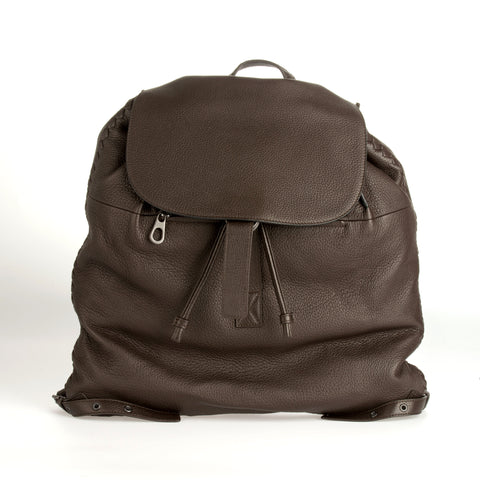 Bottega Veneta Flap Buckle Backpack