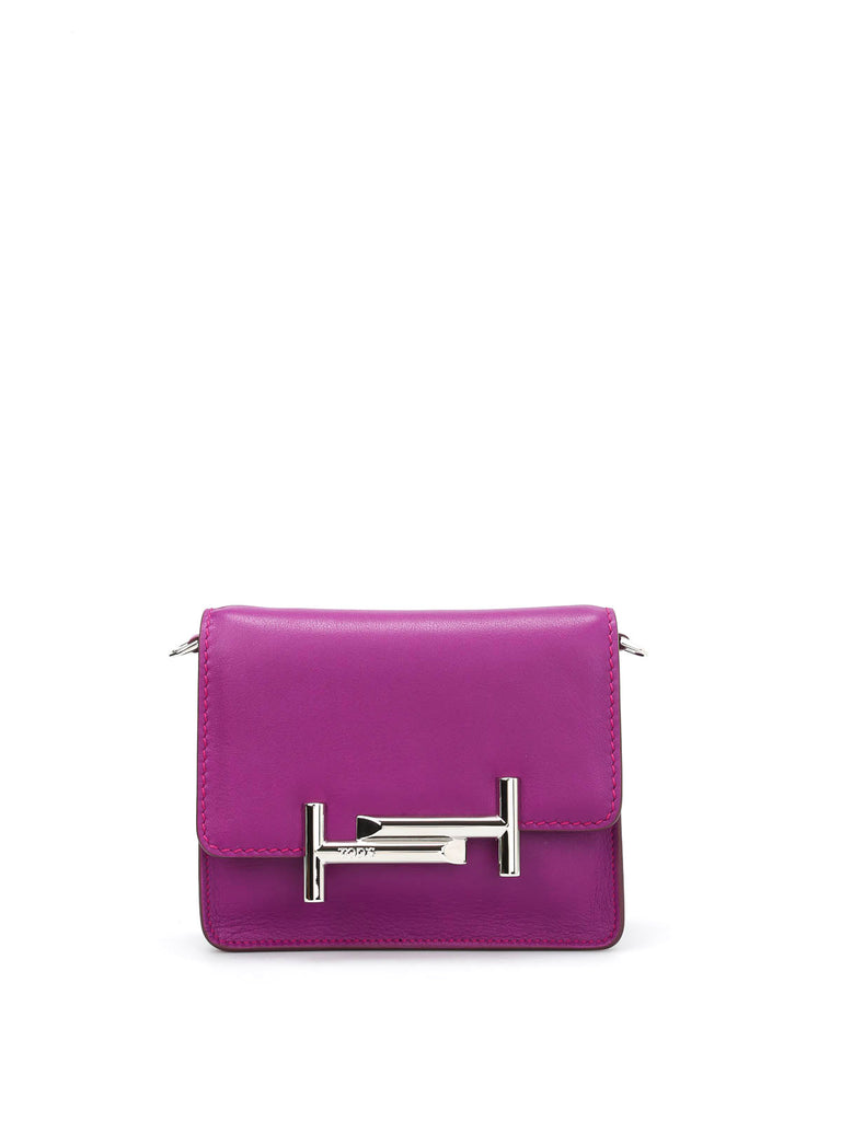 300b2a3672 Tod's Double T Leather Crossbody Bag – Cettire