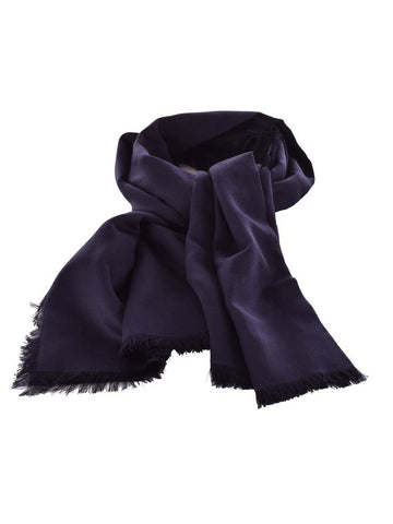 Dior Homme Frayed Edge Silk Scarf