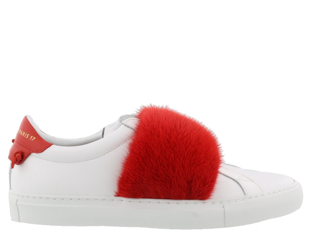 239d6dddc30642 Givenchy Fur Strap Low Top Sneakers – Cettire