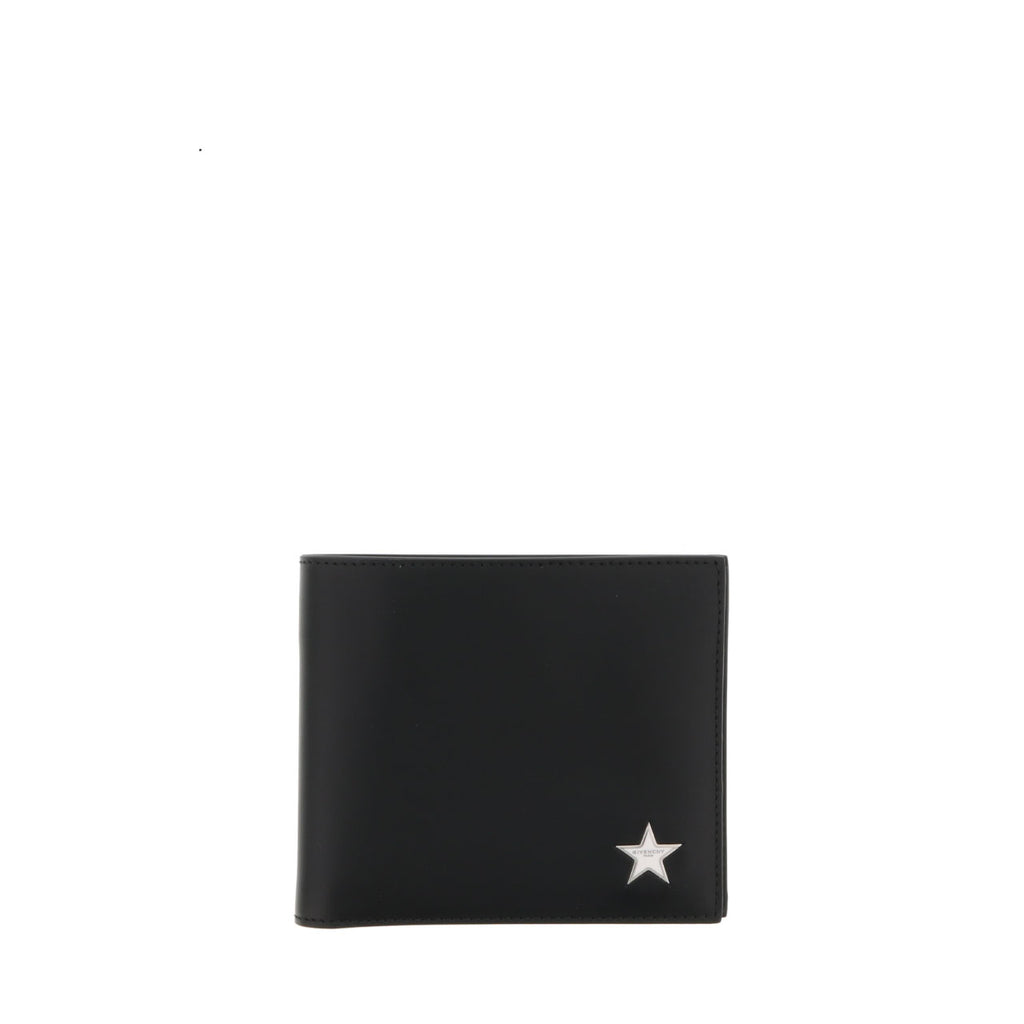7bf176d841 Givenchy Star Logo Plaque Billfold Wallet – Cettire