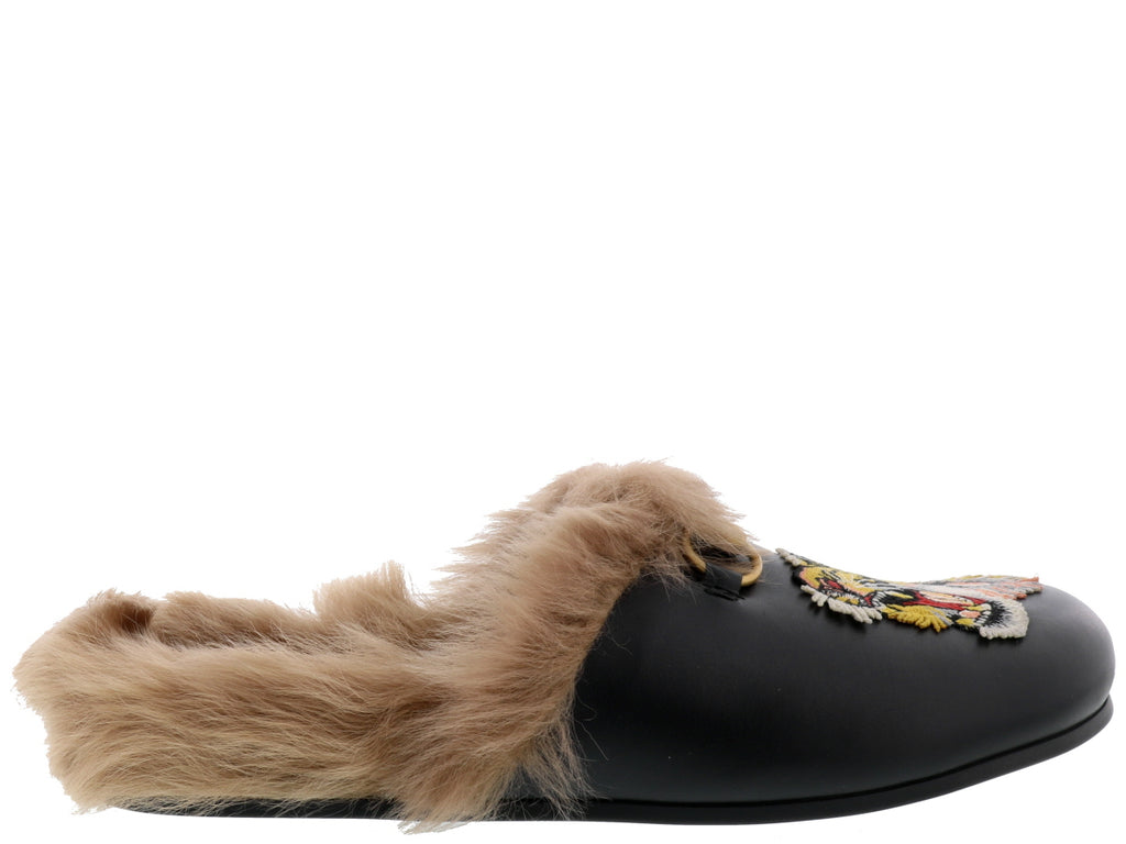 aa2fbd960d3 Gucci Princetown Tiger Slip-On Mules – Cettire