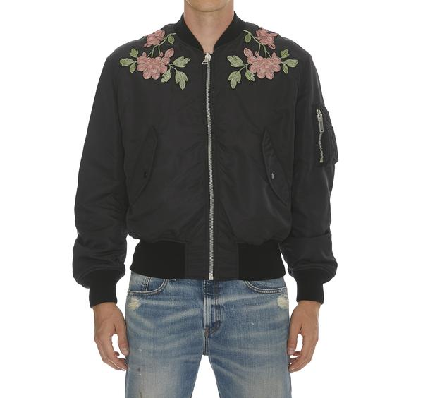 Gucci Reversible Floral Embroidered Bomber Jacket