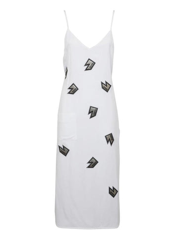 Versus Patches Midi Dress