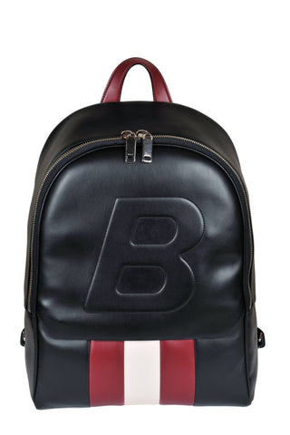 Bally Embossed B Backpack