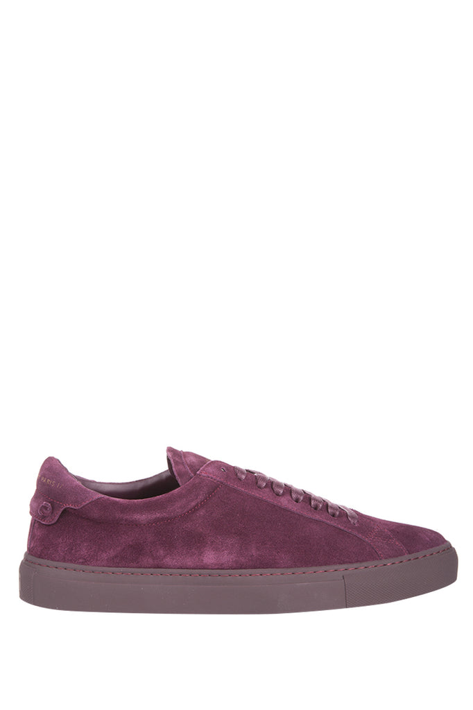 Urban Street Suede Low Top Sneakers - IT39 / Burgundy Givenchy O4AO60