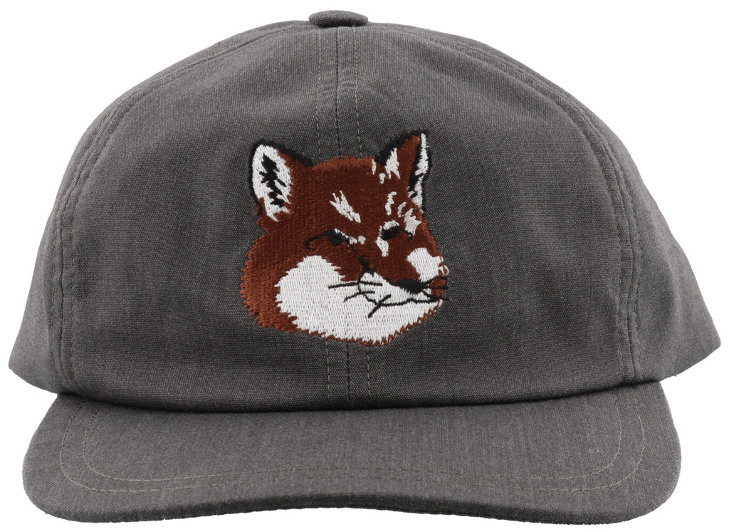 Maison Kitsuné Fox Head Embroidered Baseball Cap – Cettire 1a6639fbded