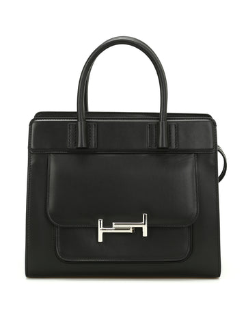 Tod's Double T Front Pocket Tote Bag