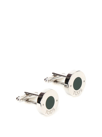 Tod's Enamel Detailed Cufflinks
