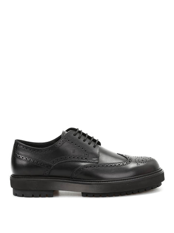 Tod's Chunky Sole Leather Brogues