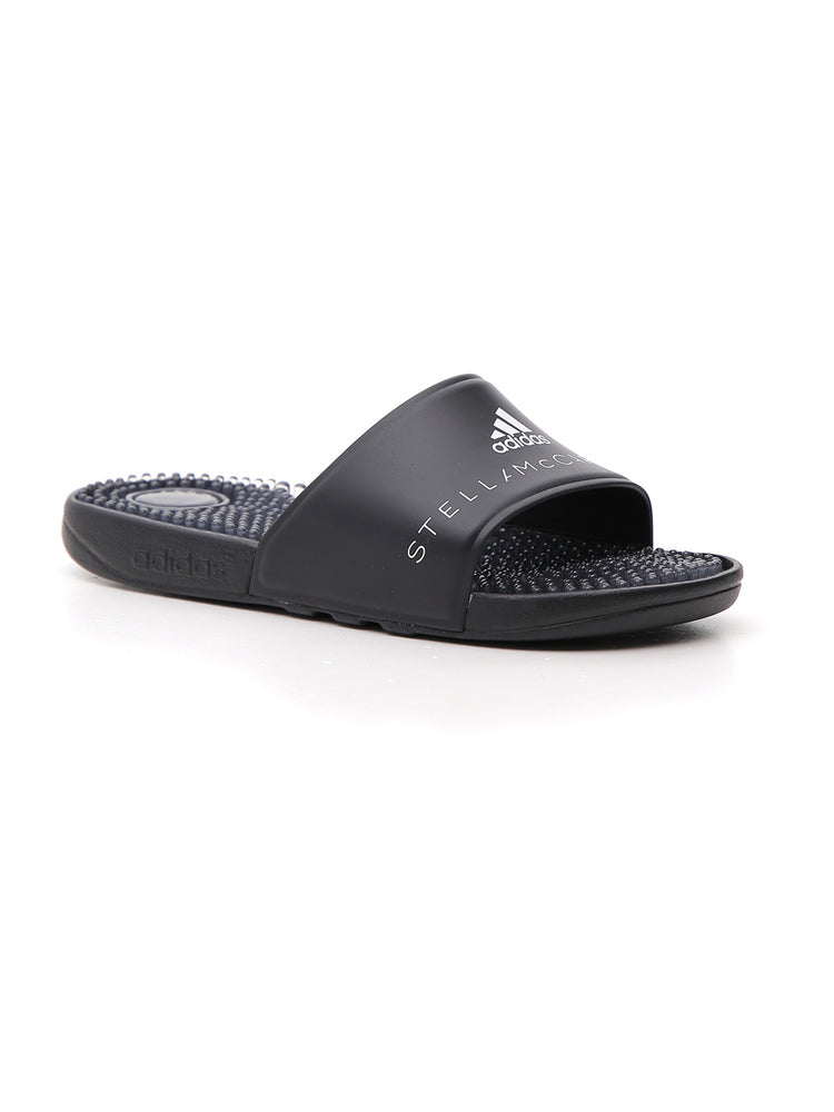 Adidas By Stella McCartney Adissage Rubber Slides – Cettire 76be13af9