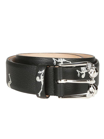 Alexander McQueen Dancing Skeleton Belt