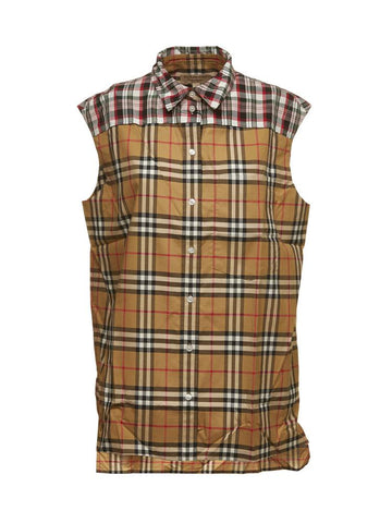 Burberry Vintage Check Sleeveless Shirt