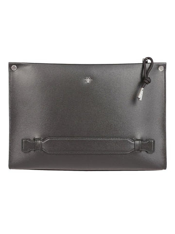 Dior Homme Bee Embroidered Clutch