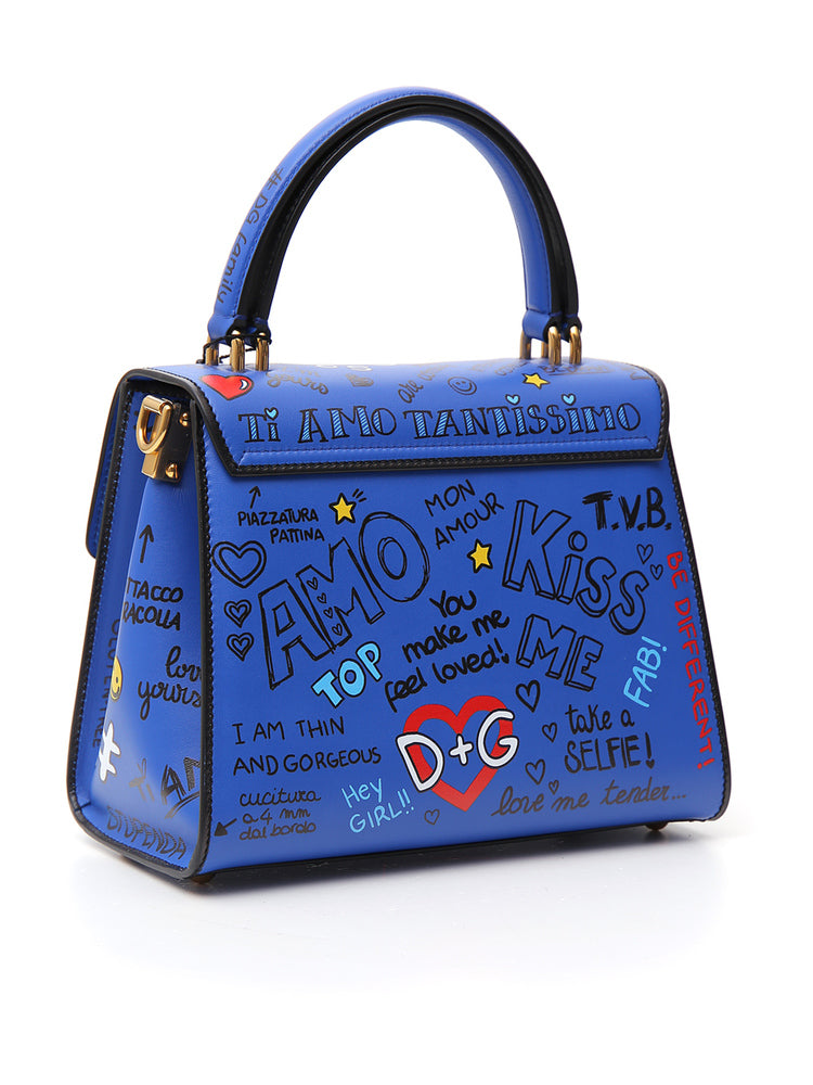 87a06d0ee215 Dolce   Gabbana Welcome Printed Tote Bag – Cettire