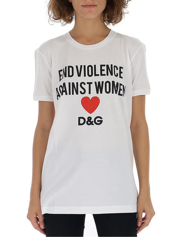 Dolce & Gabbana End Violence Against Women Tee