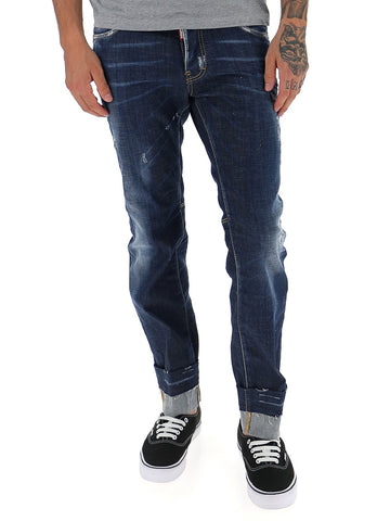 Dsquared2 Destroyed Jeans