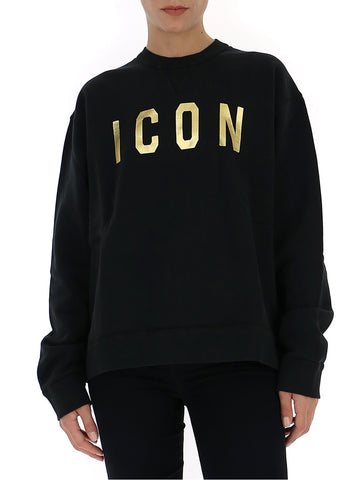 Dsquared2 Icon Print Crewneck Sweatshirt