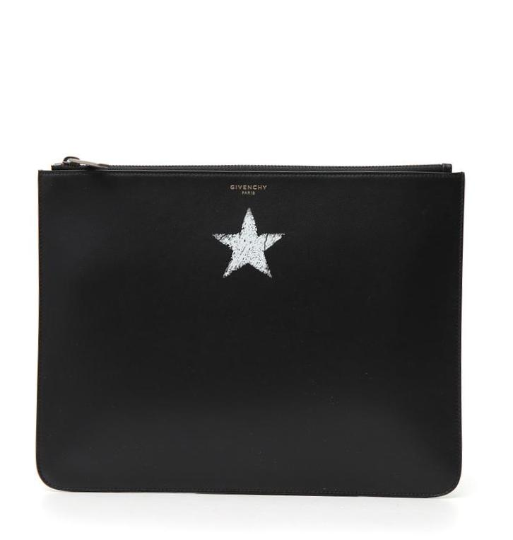 GIVENCHY STAR PRINT CLUTCH