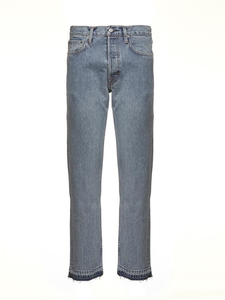 Helmut Lang Jeans HELMUT LANG CROPPED STRAIGHT JEANS