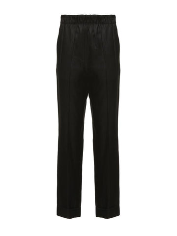 Helmut Lang Pull Up Straight Suit Trousers