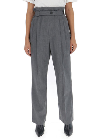 Helmut Lang Belted Straight Pants