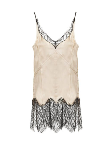Helmut Lang Lace Detail Tank Top