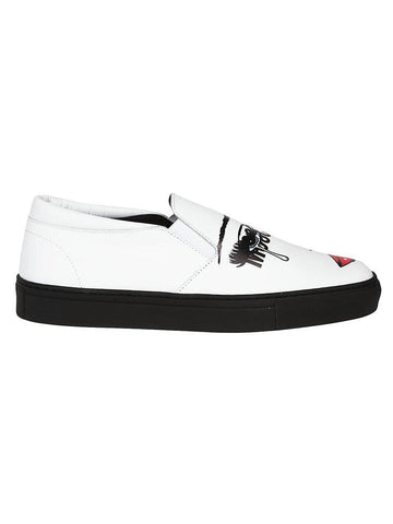 Moschino Pop Art Slip-On Sneakers