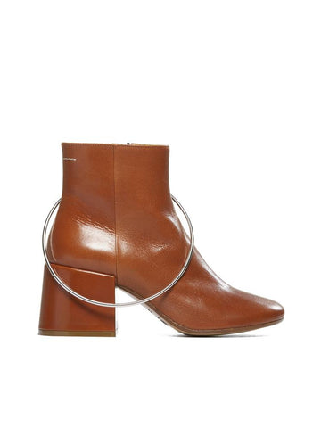 MM6 Maison Margiela Oversized Ring Ankle Boots