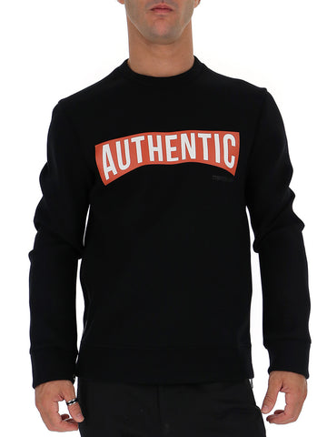 Neil Barrett Authentic Crew Neck Sweatshirt